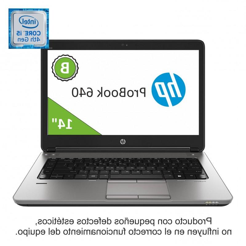 Outlet Portatiles Q0d4 Portatiles Outlet Hp Probook 640 G1 De Segunda Mano Jet Puter