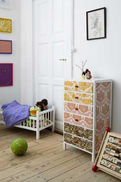 Papel Pintado Para Muebles Ffdn 25 Fotos E Ideas Para Decorar Un Mueble Con Papel Pintado