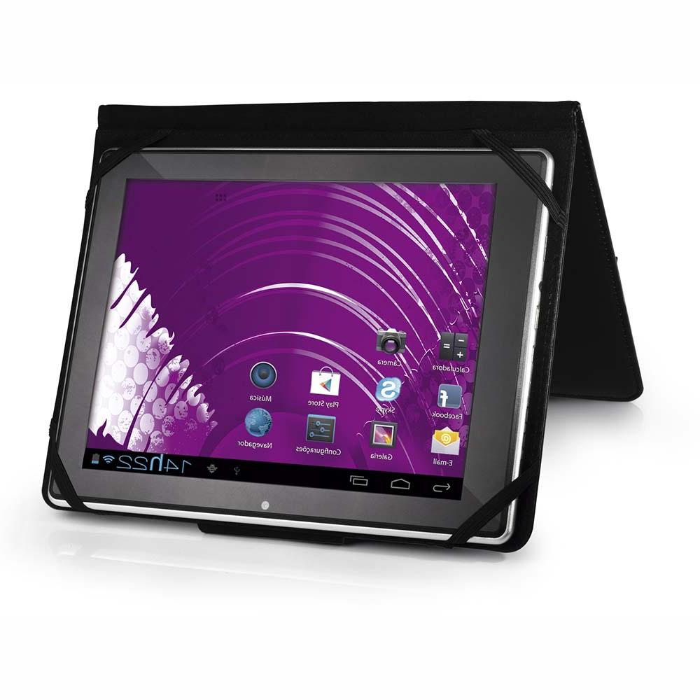 Para Tablet Wddj Capa Case Para Tablet Tela 7 Multilaser Universal Preto Bo182