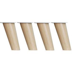 Patas De Madera Para Mesas Tqd3 Furniture Feet Muebles Patas De Madera Maciza De Reemplazo Patas De sofà 4 Juegos De Patas Inclinadas Para Armarios Mesas De Cafà Mesas Y Sillas