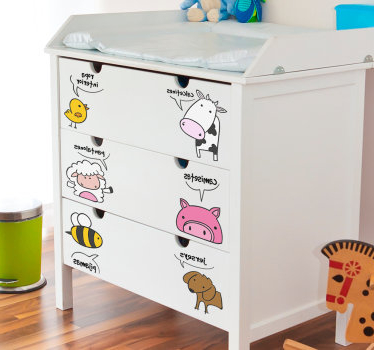 Pegatinas Para Muebles Q5df Vinilos Ikea Y Vinilos Para Muebles De Ikea Para Muebles Tenvinilo