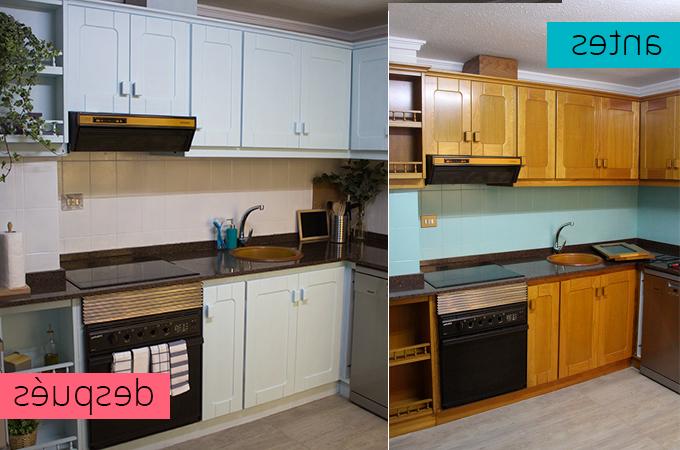 Pintar Muebles Cocina Mndw Pintar La Cocina Con Esmalte Para Que Parezca Nueva