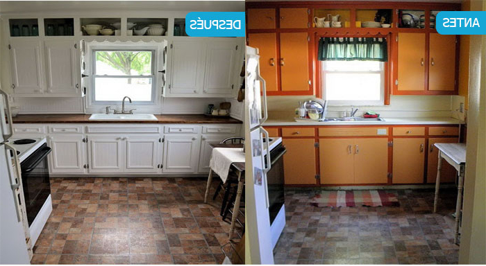 Pintar Muebles De Cocina En Blanco Kvdd Pintar Muebles De Cocina Antes Y Despuà S Fotos Y Consejos
