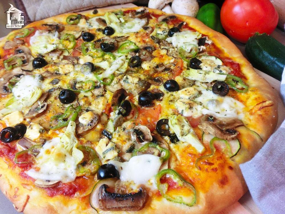 Pizza Vegetal 87dx Pizza Ve Al Con Queso Azul El Cocinero Casero Pasta Y Pizza