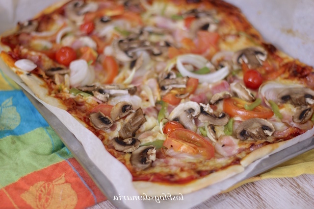 Pizza Vegetal E6d5 Pizza Ve Al La Cocina Perfecta