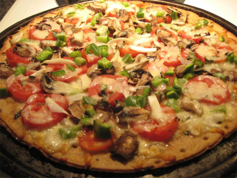 Pizza Vegetal Irdz CÃ Mo Hacer Una Pizza Ve Al FÃ Cil