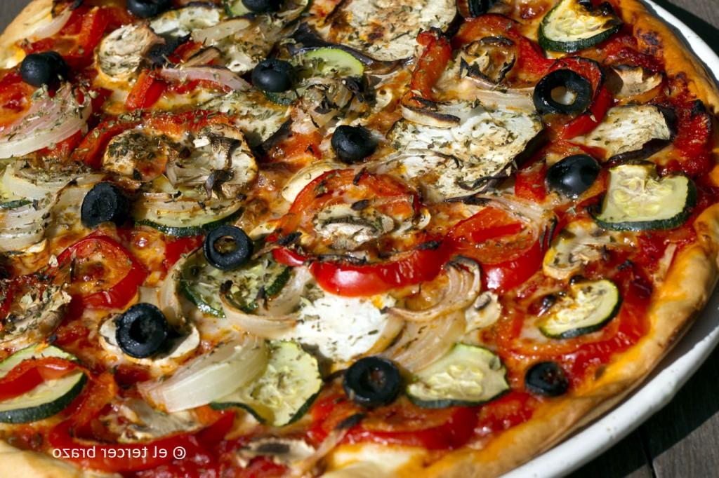 Pizza Vegetal Mndw Pizza Ve Al El Tercer Brazo