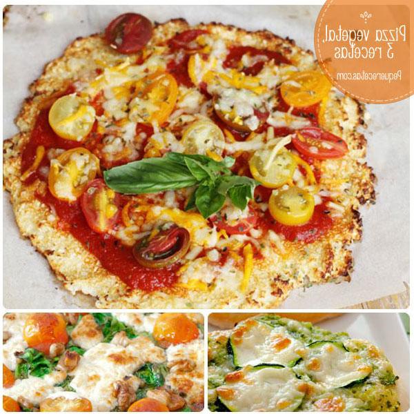 Pizza Vegetal Nkde Pizza Ve Al 3 Recetas Deliciosas Pequerecetas