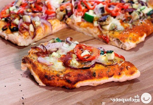 Pizza Vegetal Q0d4 Pizza Ve Al CÃ Mo Preparar Pizza Casera Con Ve Ales