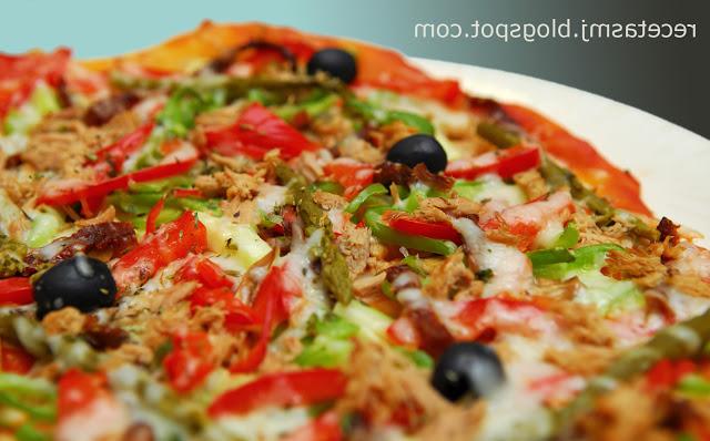 Pizza Vegetal Q0d4 Pizza Ve Al Con atà N Las Recetas De Mj