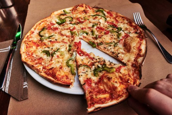 Pizza Vegetal Rldj Pizza Ve Al P Picture Of La Nonna Salou Tripadvisor