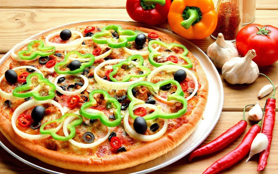Pizza Vegetal Zwd9 Pizza Ve Al Edor Escolar