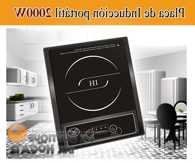 Placa Induccion Portatil 3id6 Placa De Induccion Portatil Negra 2000 W Jrd Ebay