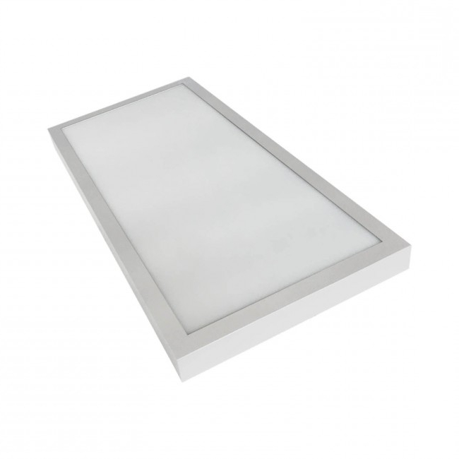 Plafon Led Regulable Q5df Plafà N Led Luz Regulable 36w 30x60 Rectangular Blanco
