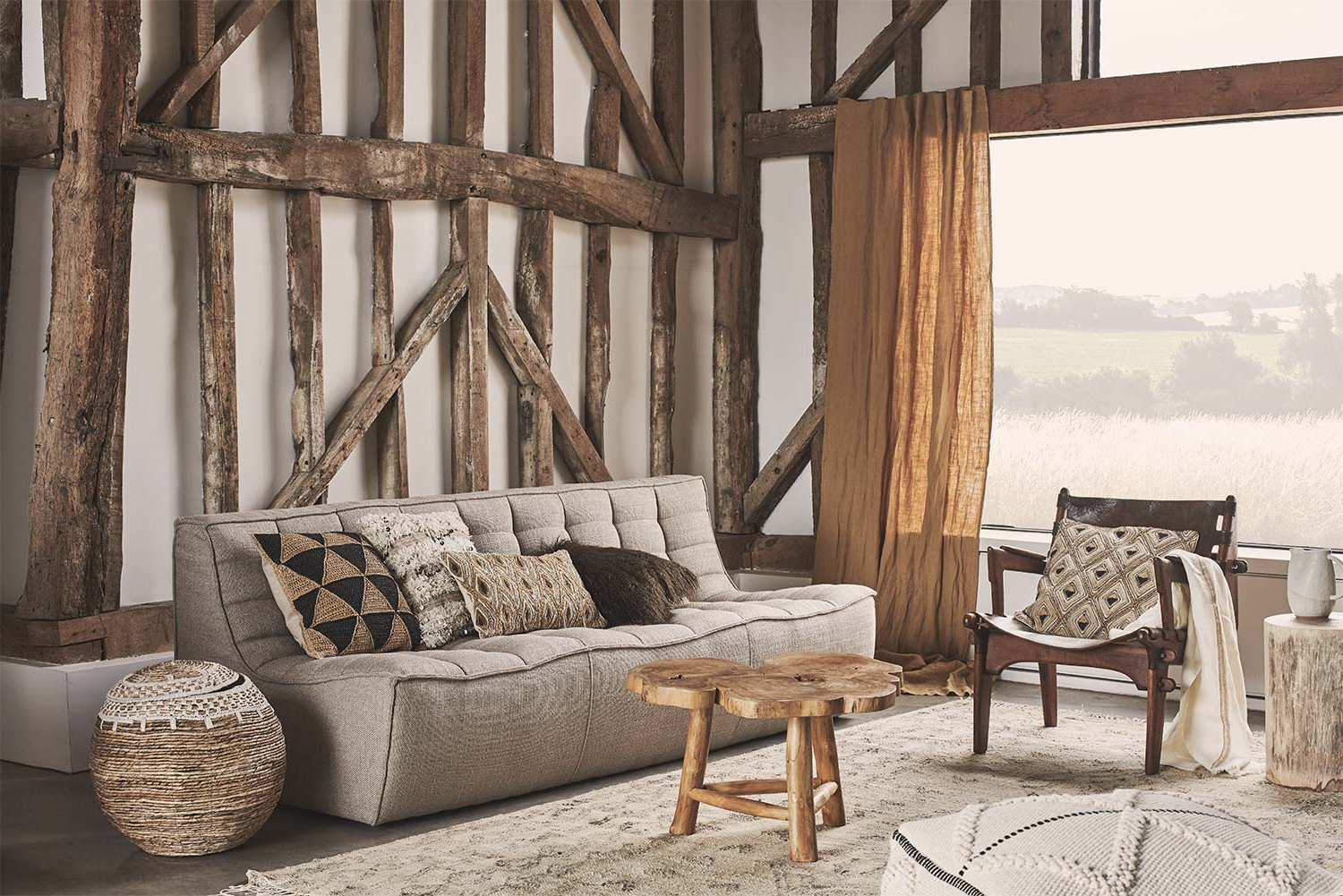 Plaid sofa Zara Home 4pde the Raw Edit Campaign Aw18 Editorials Zara Home United Kingdom