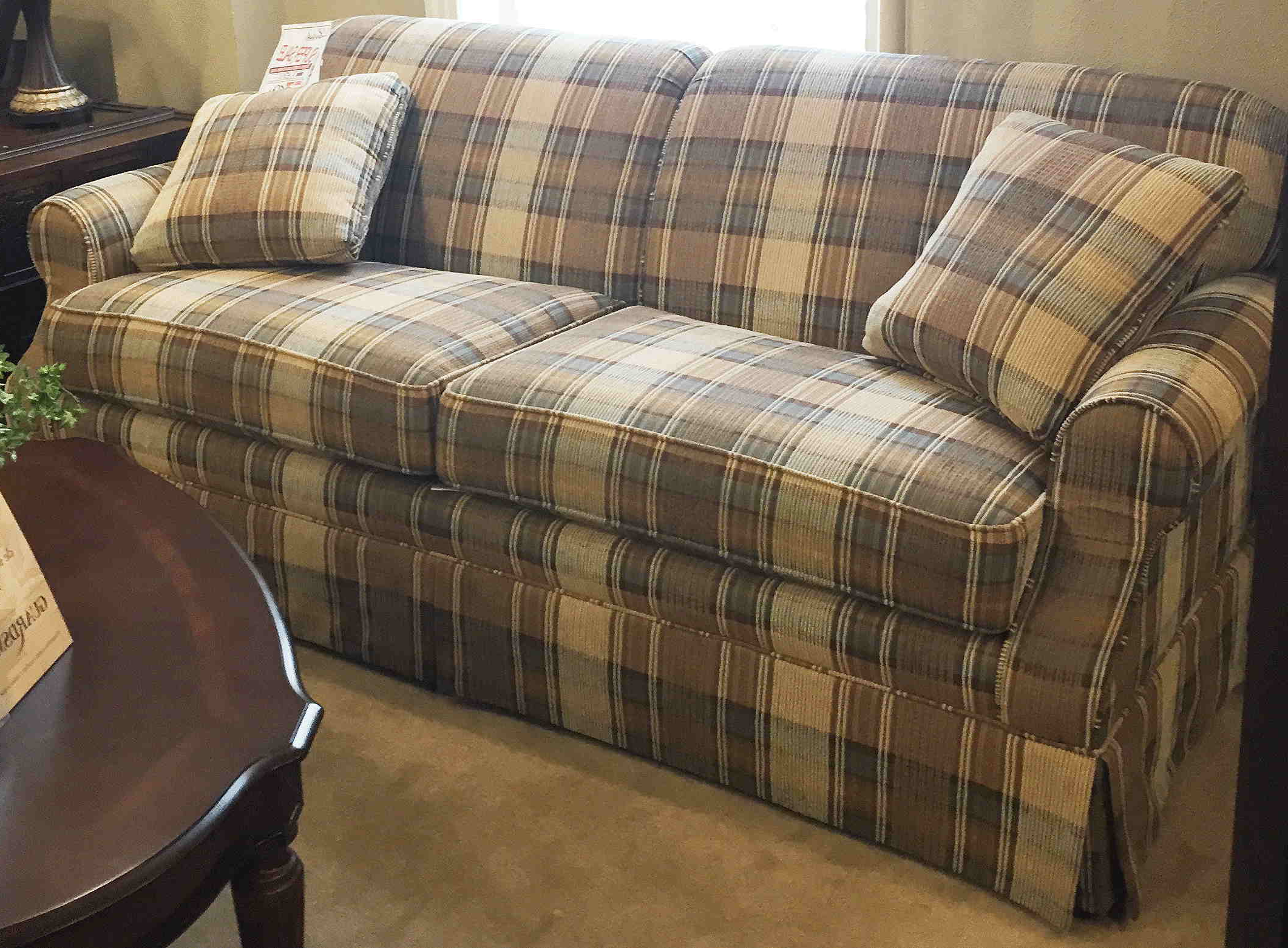 Plaid sofa Zara Home E9dx Zara Home sofas Qpw Decoration