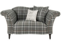 Plaids sofa Budm Cuddler sofa From the Maison Collection Ahf Furniture
