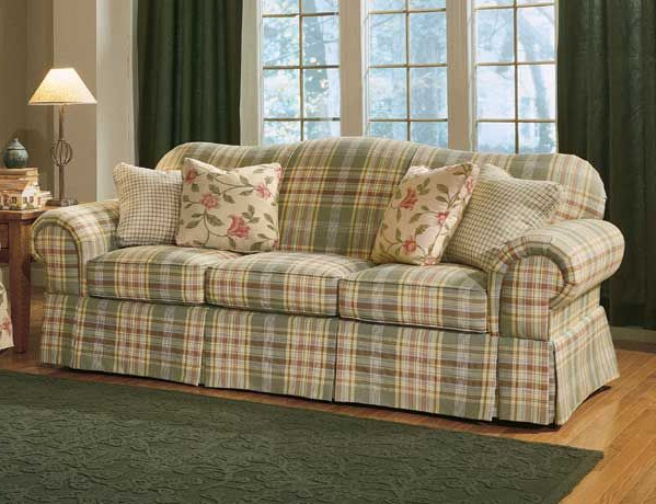 Plaids sofa Dwdk Country Plaid sofas Anyone Have Plaid Couches Edited with A
