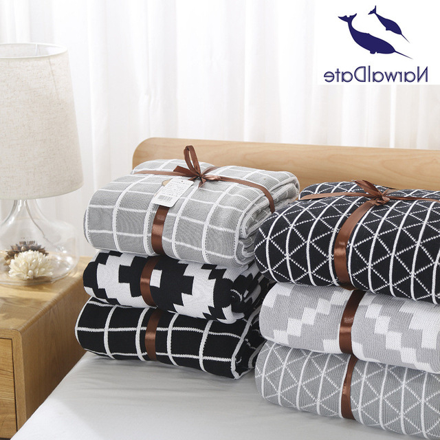 Plaids sofa Ffdn 120x180cm Simple Plaids Blanket sofa Decorative Slipcover Throws On