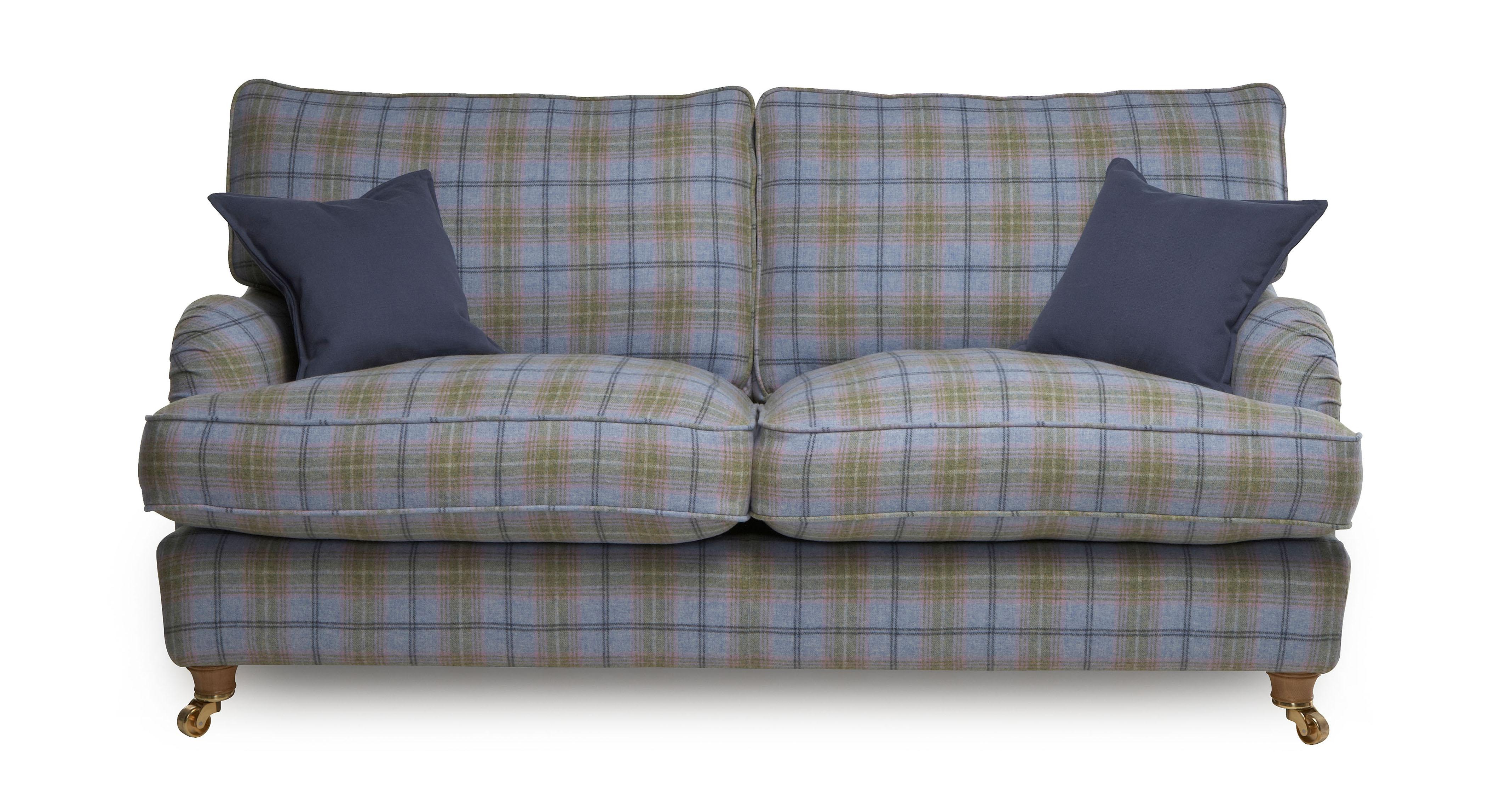 Plaids sofa Irdz Gower Plaid Large sofa Gower Plaid Dfs