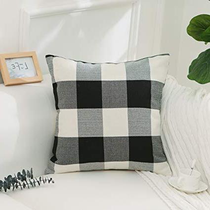 Plaids sofa Qwdq Home Brilliant Black and White Buffalo Checkered Plaids