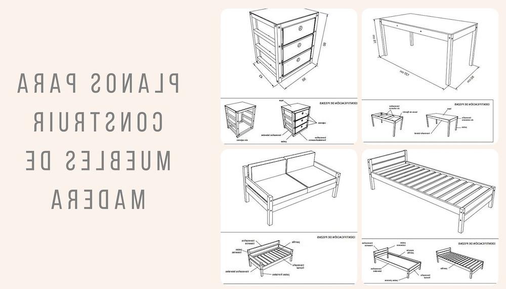 Planos Muebles Kvdd HÃ Galo Usted Mismo Planos Para Construir Muebles De Madera