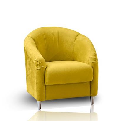 Poltrona H9d9 Poltrona Pingo De Ouro Takei Amarelo