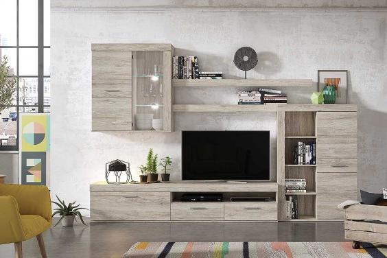 Precios De Muebles De Salon Gdd0 Mueble De Salà N Edor Moderno Niza Roble Al Mejor Precio