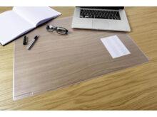 Protector De Escritorio X8d1 Durable Almohadilla De Escritorio Transparente Duraglass 53 X 40 Cm