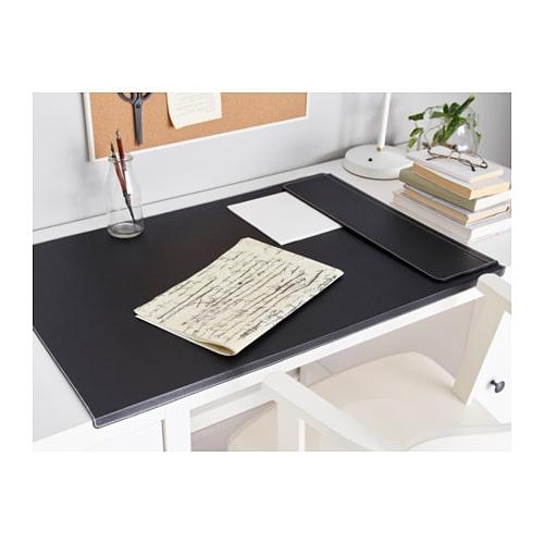 Protector De Escritorio Y7du Rissla Protector De Escritorio Negro Ikea