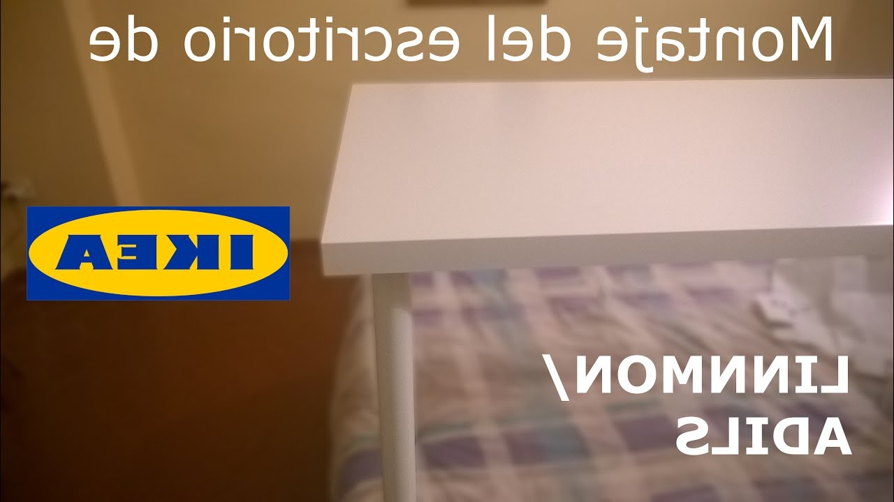 Protector Escritorio Ikea Jxdu Montaje Escritorio De Ikea Linnmon Adils En Espaà Ol Youtube