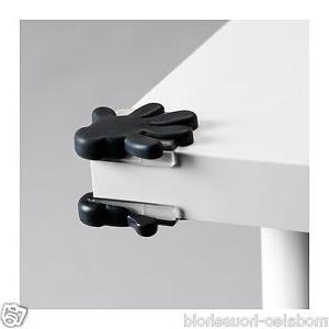 Protector Mesa Ikea Dwdk Ikea Patrull 8 Black Child Safety Table Cabinet Corner Bumper
