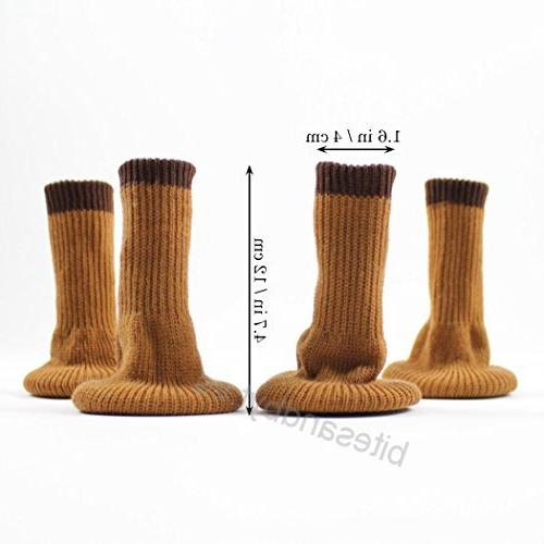 Protectores Patas Sillas Tqd3 Merysan Calcetines Para Patas De Silla Con Almohadillas De Fieltro
