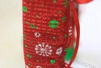 Protectores Patas Sillas Whdr 4 Fundas Para Sillas De Navidad Calcetines De Papà Noel Patas De
