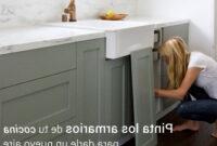 Puertas De Armarios De Cocina Rldj Paso A Paso Para Pintar Los Armarios De Tu Cocina