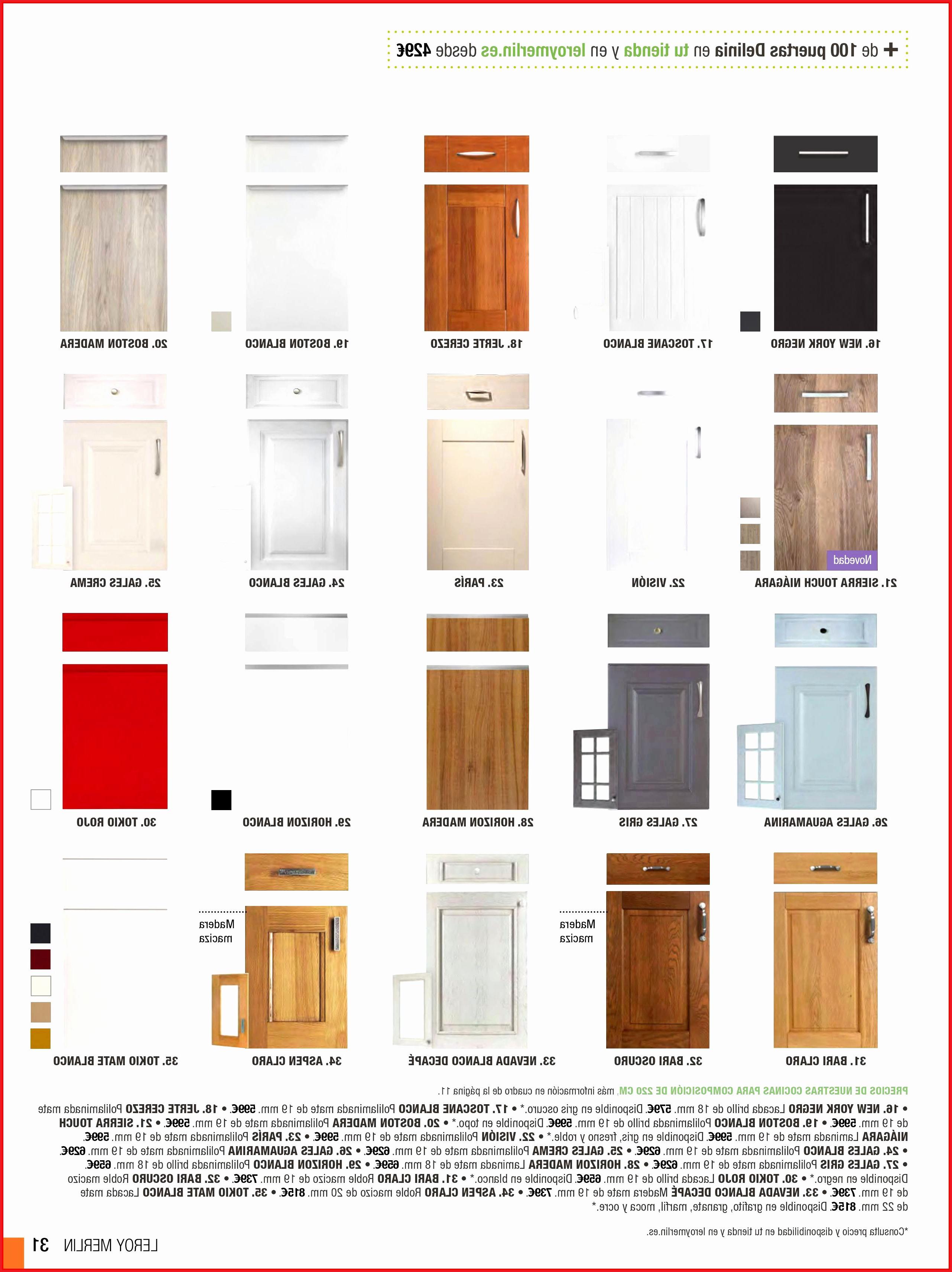 Puertas De Muebles De Cocina 9ddf Puertas De Muebles De Cocina Leroy Muebles Cocina Leroy