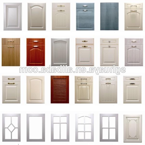 Puertas De Muebles De Cocina Dddy Puertas Para Muebles De Cocina Venta Caliente Blanco Pvc Gabinete