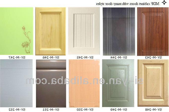 Puertas De Muebles De Cocina Dwdk Vinilo Envuelto Bambú Cocina Puerta Del Armario Bambú Cocina