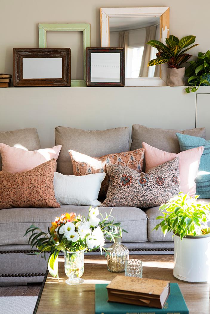 Que Cojines Poner En Un sofa Beige 4pde CÃ Mo Binar Los Cojines Para Actualizar Tu sofÃ