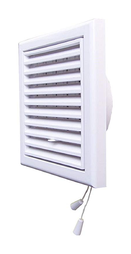 Rejilla Ventilacion Regulable 3ldq Rejilla De Ventilacià N Blanco Plà Stico 250 X 250 Mm Regulable
