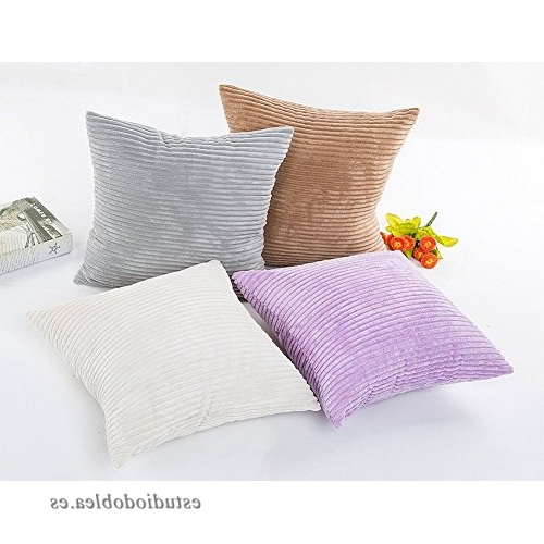 Relleno Para sofas 3ldq toruiwa Funda De Cojà N De Corduroy Cojines Para sofa Con Relleno