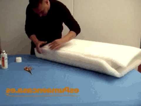 Relleno Para sofas 9ddf Cà Mo Envolver Con Fibra Un Almohadà N De sofà O Tresillo Youtube