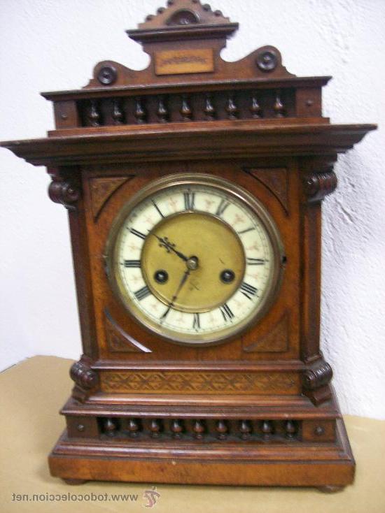 Relojes Antiguos De sobremesa O2d5 Antiguo Reloj Alemà N De sobremesa De Madera Mar Prar Relojes