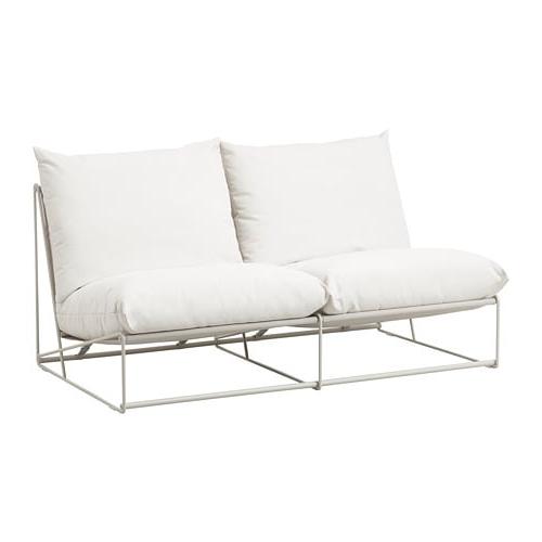 Reposabrazos sofa J7do Havsten sofà 2 Int Ext Sin Reposabrazos Beige 164 X 94 X 90 Cm Ikea