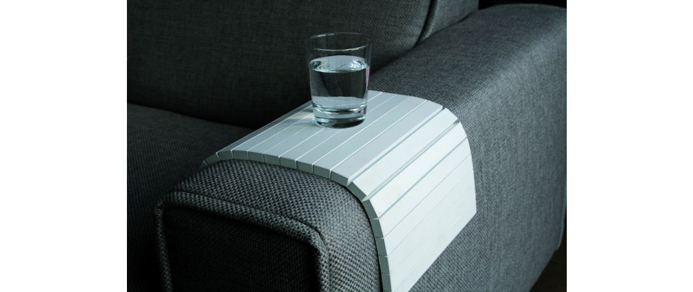 Reposabrazos sofa S5d8 Reposabrazos Para sofà Flex Blanco Miliboo
