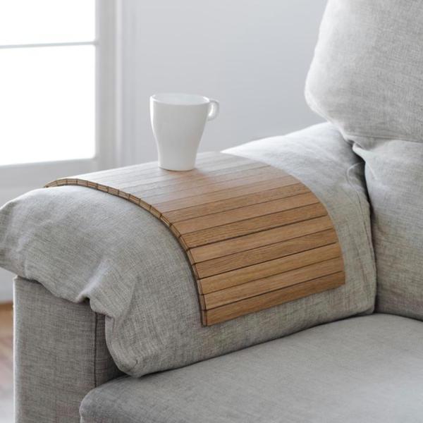 Reposabrazos sofa T8dj Bandeja Adaptable Reposabrazos Detray Roble Debosc Hhhaus