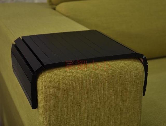 Reposabrazos sofa Tldn 24 42 Cm Extra Grande original De Madera De Roble sofà Almohadilla
