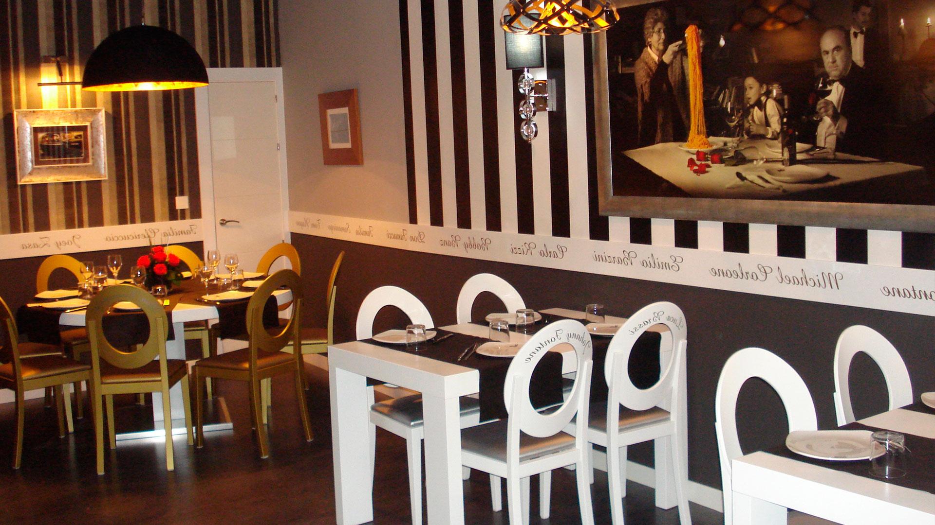 Restaurante Mesa Vitoria Dwdk La Mafia Vitoria