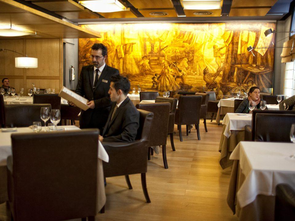 Restaurante Mesa Vitoria Ffdn Restaurante Vitoria Hotel Silken Ciudad De Vitoria Donde Er