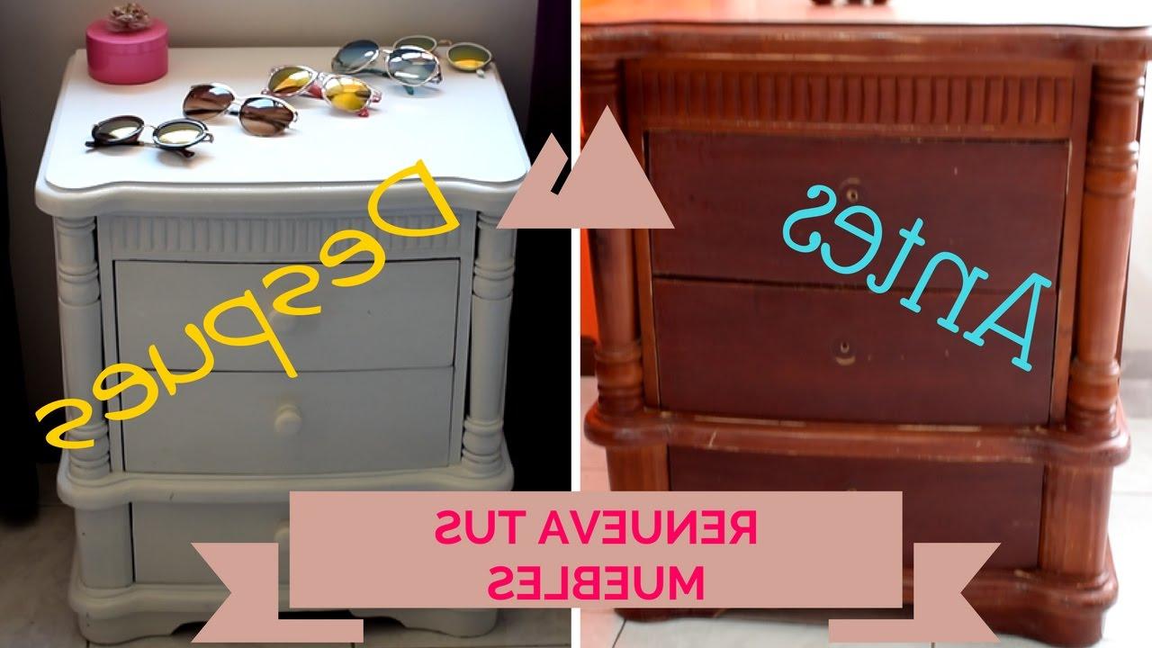 Restaurar Mueble Antiguo A Moderno Whdr Pinta Y Renueva Tus Muebles Viejos Sin Lijar Nathy Aportes